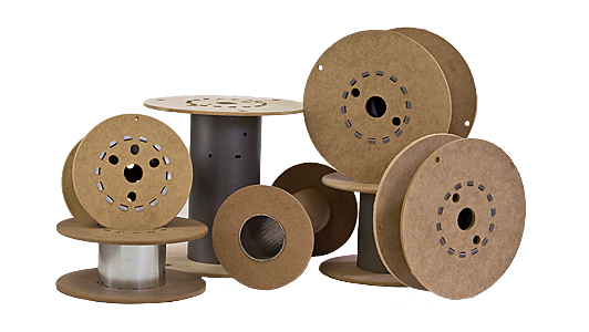 Menu Photo - Fiberboard Spools
